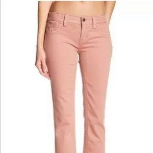 NWT Miss Me Sz 36 Mid-Rise Easy Crop Dusty Pink